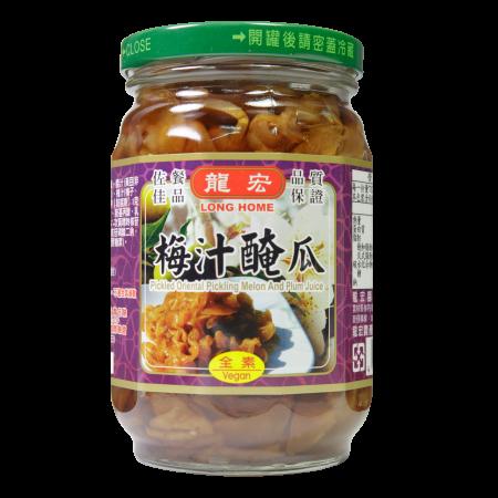 【龍宏】梅汁醃瓜(420g)