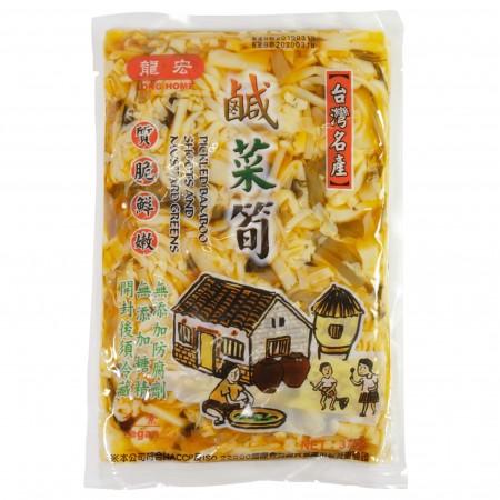 【龍宏】鹹菜筍(袋裝375g)