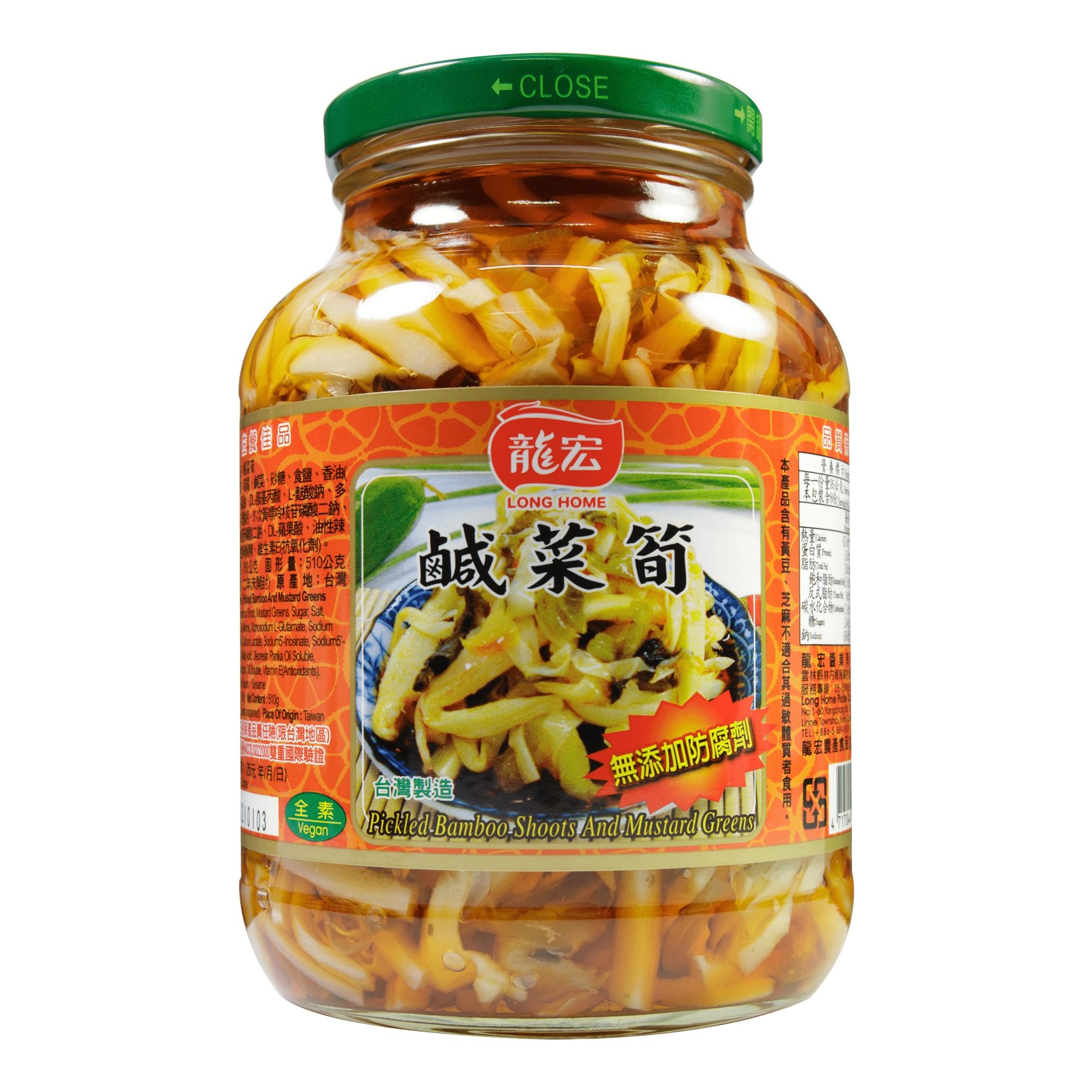 鹹菜筍 760g