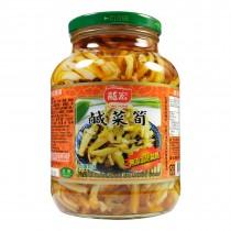 【龍宏】鹹菜筍(760g)