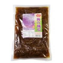 【龍宏】梅汁醃瓜(袋裝400g)