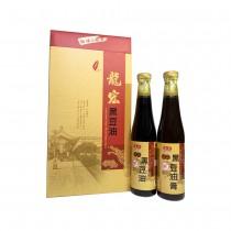 【龍宏】皇品黑豆油2入禮盒組